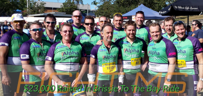 Brissie To The Bay Ride - Fight Against Multiple Sclerosis
