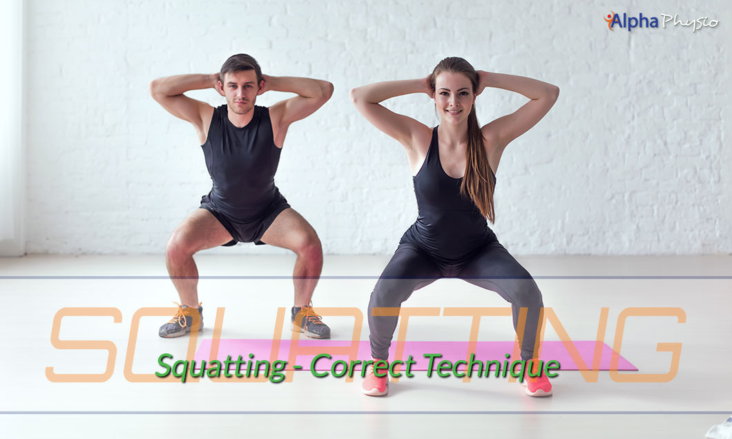 Squatting - Correct Technique