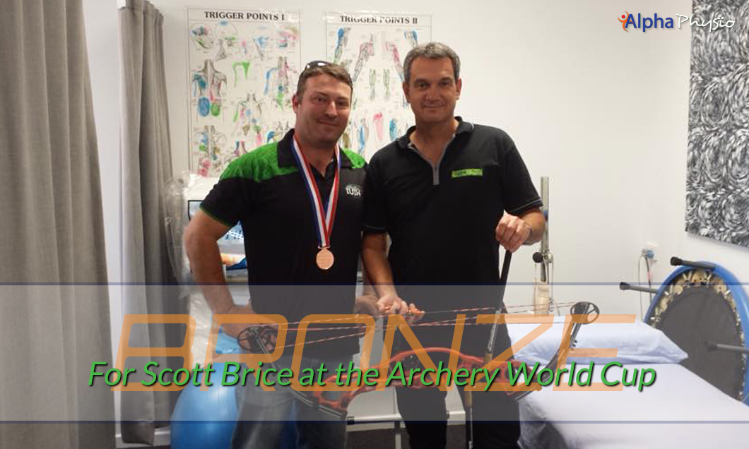Bronze Medal For Scott Brice Archery World Cup Shanghai