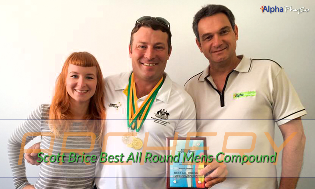 Scott Brice Archery Best All Round 2015 Nationals