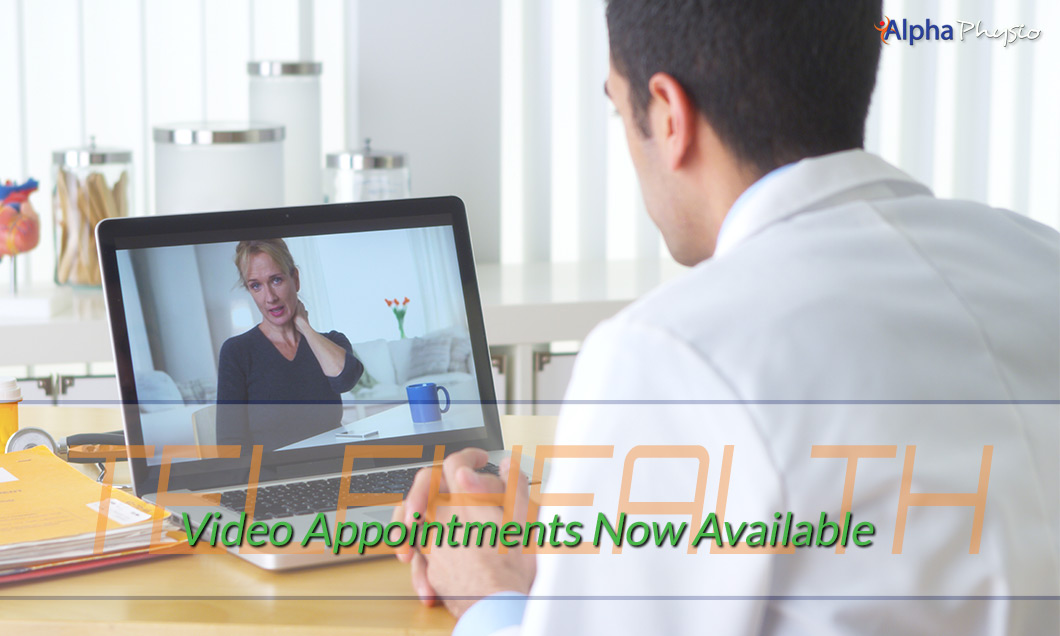 Telehealth Video Appointments Now Available